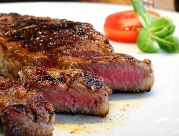 Perfectly Cooked Rump Steak